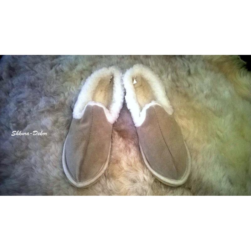 Обувь из овечьей шкуры своими руками 8191