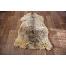 овчина (молочно-коричневая) длинный ворс 110*80 см