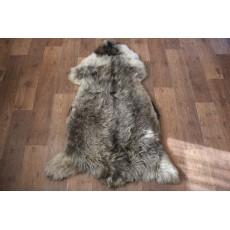 овчина (светло-серая) длинный ворс 110*70 см.