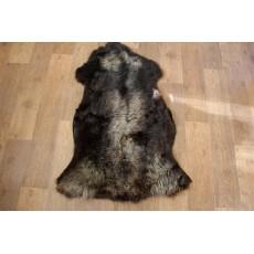 овчина (темный шоколад) с длинным ворсом 110 см.
