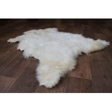 Шкура Ангорской козы (кофейно-коричневая) с кудрявым ворсом 110*85 см.