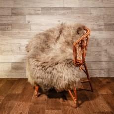 овчина (серо-коричневая) длинный ворс 137 см