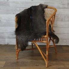 ангорская коза (кофейно-коричневая) прямой ворс