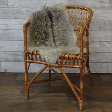 ангорская коза (серебристая) пушистый ворс
