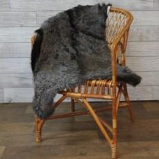 ангорская коза (серая с синевой) прямой ворс
