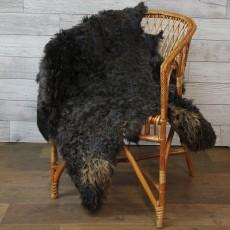 ангорская коза (коричневая) с кучерявым ворсом