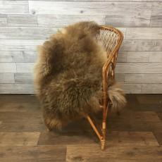 Овчина (светло-коричневая) с мягким ворсом 120 х70 см.