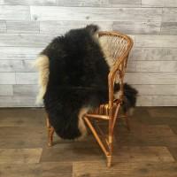 овчина (коричневая с рыжинкой) длинный ворс 110*70 см.