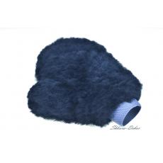 Чистящая рукавица из овчины