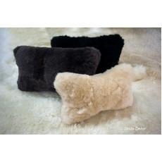 Декоративная подушка из овчины Цена за 2 шт