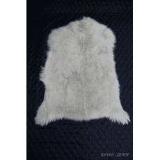 Шкура ангорской козы белая 80 х 60 см.