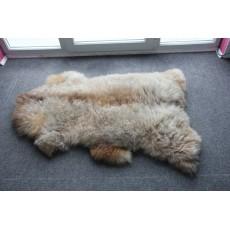 овчина (молочная с рыжинкой) длинный ворс 120*80 см.