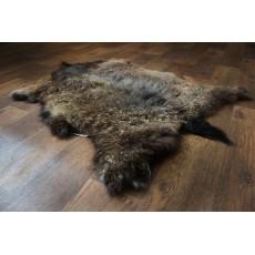 Шкура Ангорской козы (серебристо-коричневая) 110*80 см