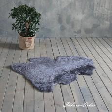 Коврик одношкурный оз натуральной овчины (серый)
