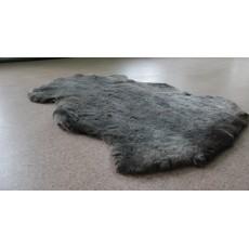 Овчина (пепельно-серая) с мягким ворсом 110*70 см.