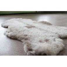 Овчина (коричнево-пятнистая) с прямым ворсом 100 х 70 см.