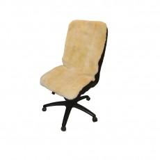 Накидка на офисное кресло (бежевая)
