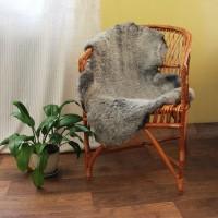 овчина (романовская) серая 100*70 см