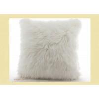 Декоративная подушка из овчины  40 х 40 см.