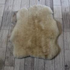 овчина (кремовая) мягкий ворс 80*60 см.