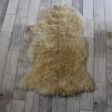 овчина (песочная)  длинный ворс 100*60 см.