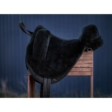 пад из натуральной овчины (чёрный)