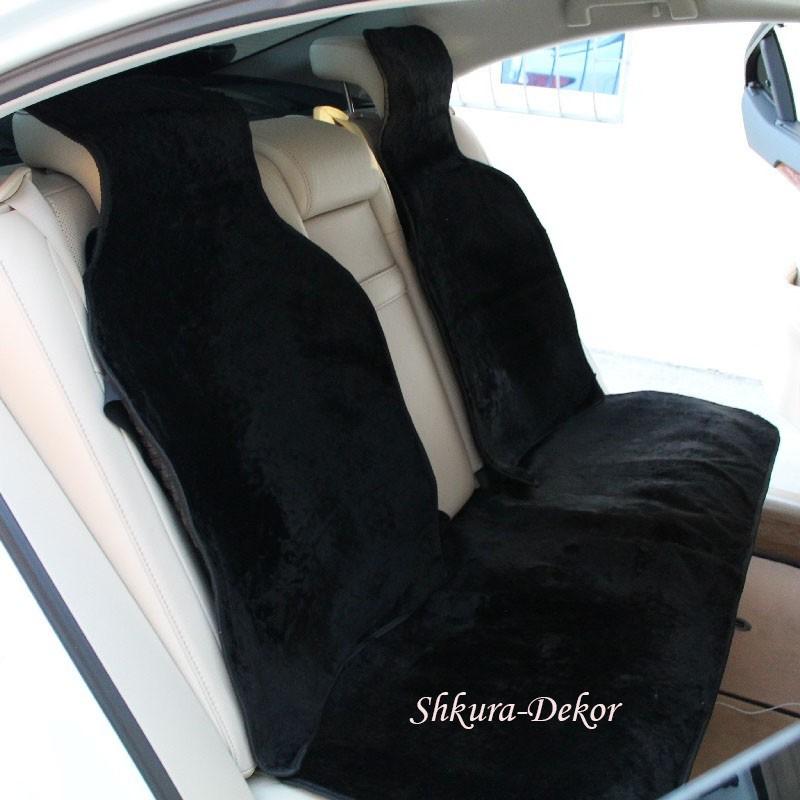 Накидка на заднее сиденье меховая натуральная шерсть