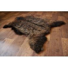 шкура Ангорской козы (светло-коричневая) мягкий ворс 107*70 см.