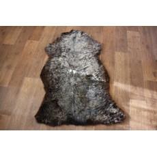 Овчина (серебристо-коричневая) длинный ворс 110*70 см.