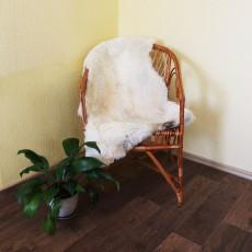 овчина (молочно-серая) прямой ворс 120*70 см.
