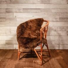 овчина (коричневая с рыжинкой) плюшевый ворс 110*70 см.