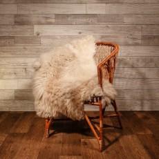 овчина (светло-дымчатая) длинный ворс 120*80 см.