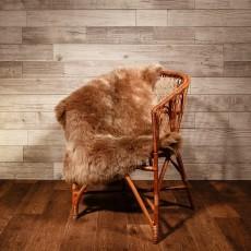 овчина (светло-коричневая) длинный ворс 120*80 см