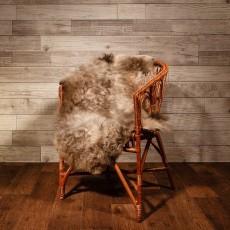 овчина (светло-дымчатая) длинный ворс 120*80 см