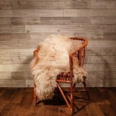 овчина (светло-серая) длинный ворс 120*80 см
