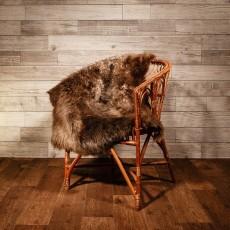 овчина (серо-коричневая) длинный ворс 110*80 см.