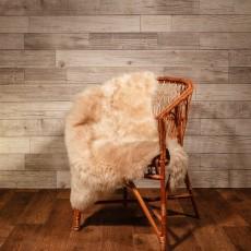 овчина (светло-кремовая) мягкий ворс 120*80 см