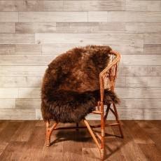 овчина (рыже-коричневая) длинный ворс 110*80 см.