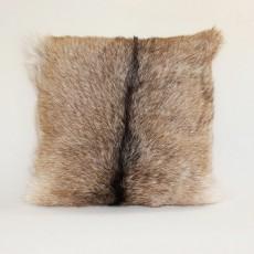 декоративная наволочка из натуральной козьей шкуры 40х40