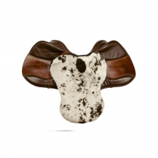 Меховушка на седло выездковая  (пятнистая)