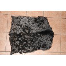 Черная шкура алтайской козы 80 х 60 см