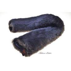 Меховушка на подпругу из овчины, коричневая (чулком)